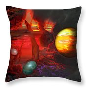 Seeds Of The Universe Throw Pillow