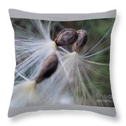 Seeds Ready For Take Off Throw Pillow