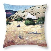 Seeing Beyond The Temporal Throw Pillow