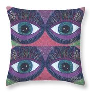 Seeing Double - Tjod 38 Compilation Throw Pillow