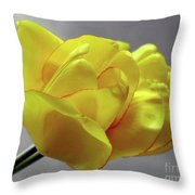 Seeing Double - Tulip Throw Pillow
