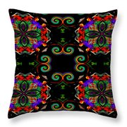 Seeing In Abstraction Throw Pillow