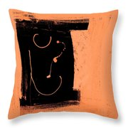 Seeing Straight Throw Pillow
