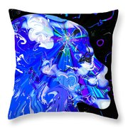 Seeing The Universe Inside Throw Pillow