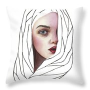 Seeing You Throw Pillow
