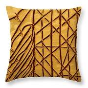 Seeking - Tile Throw Pillow