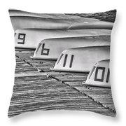 Seemingly Subliminal Throw Pillow