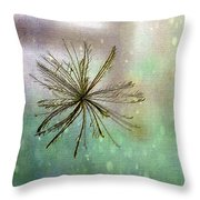 Seen In The Wind Throw Pillow