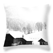 Seen Many Storms Throw Pillow