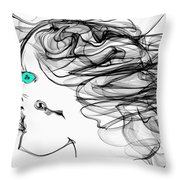 Seer Of Truth Throw Pillow