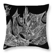 Segmented Throw Pillow