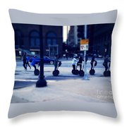 Segway - City Of Chicago Throw Pillow