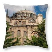 Sehzade Mosque Throw Pillow