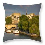 Seine Pano II Throw Pillow