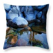 Sekani Rocks Tahoe Throw Pillow
