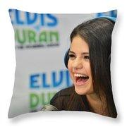 Selena Gomez Throw Pillow