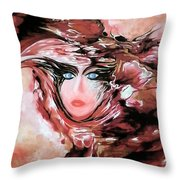 Self And Model Throw Pillow