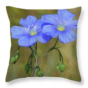 Self Discovery Throw Pillow