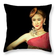 Self Esteem Throw Pillow