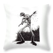 Self Inflicted Throw Pillow
