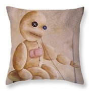 Self Infliction Throw Pillow