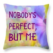 Self-love - Bell Flower Throw Pillow