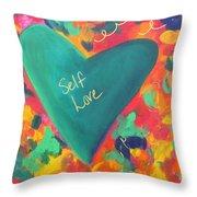 Self Love Throw Pillow