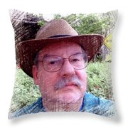 Self Portrait 101516 1a Throw Pillow