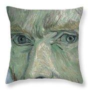 Self-portrait 2 Throw Pillow