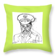 Self Portrait As Soldier Throw Pillow