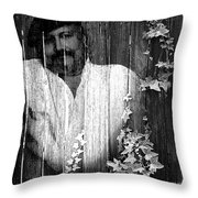 Self Portrait Throw Pillow