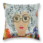 Not Anymore Throw Pillow
