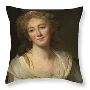 Self-portrait Of The Artist Throw Pillow