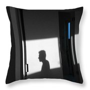 Self-portrait Shadow 3 Throw Pillow
