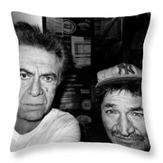 Self Portrait With Friend   Throw Pillow