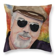 Self Portrait With Sunglasses Throw Pillow