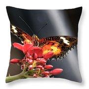 Self Propelled Flower - 2 Throw Pillow