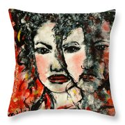 Self-reflection Throw Pillow