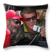 Selfie Pride Throw Pillow