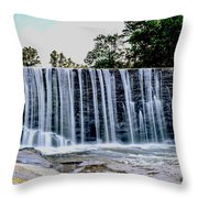 Sells Mill Waterfall Throw Pillow