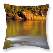 Selway River Throw Pillow