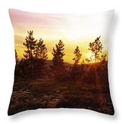 Selway Wilderness Throw Pillow