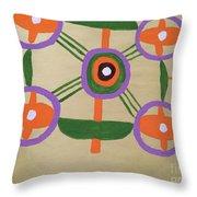 Semetricl Design Throw Pillow
