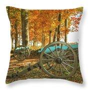 Seminary Ridge Throw Pillow