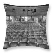 Senate Theatre Seating Detroit Mi Throw Pillow