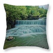 Seneca Mills Waterfall Throw Pillow