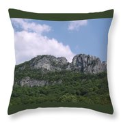 Seneca Rocks Throw Pillow