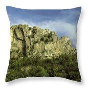 Seneca Rocks Throw Pillow