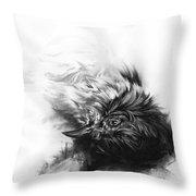 Senescence 4 Throw Pillow