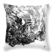Senescence 7 Throw Pillow